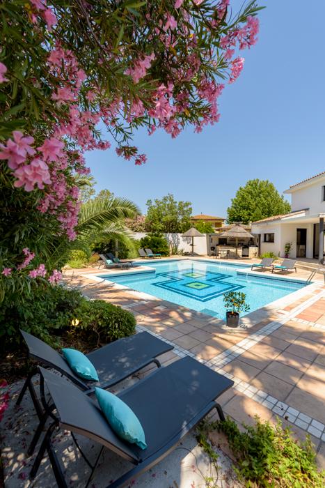 grande piscine- villa turquoise aigues mortes-cocktail curacao-palmier-photographe gard christelle labrande-luxe-immobilier-luxe